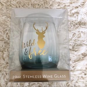 NIB Stemless Wine Glass 🍷